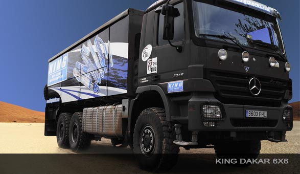 King Racing Support Vehicle